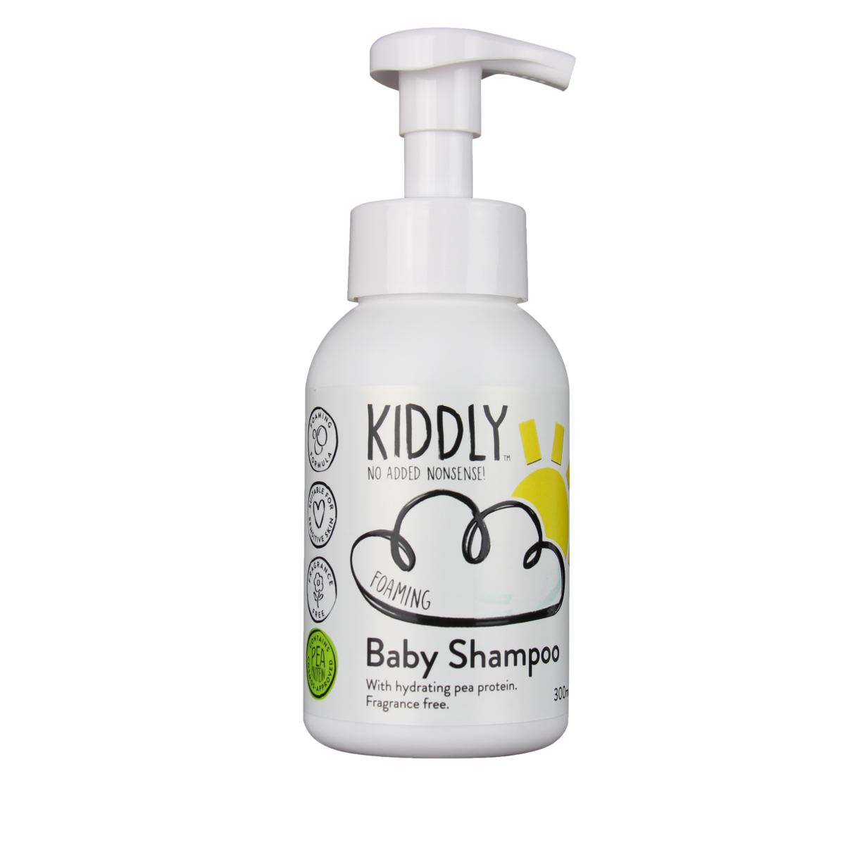 BABY SHAMPOO(オーガニック原料、ピープロテイン配合)