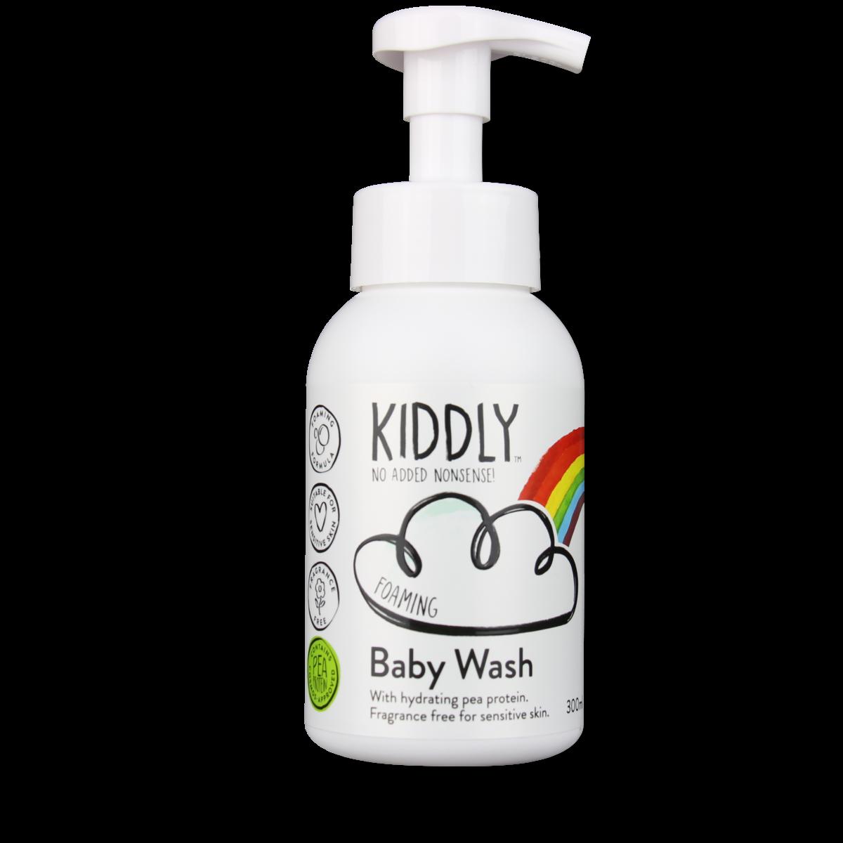 BABY WASH(オーガニック原料、ピープロテイン配合)