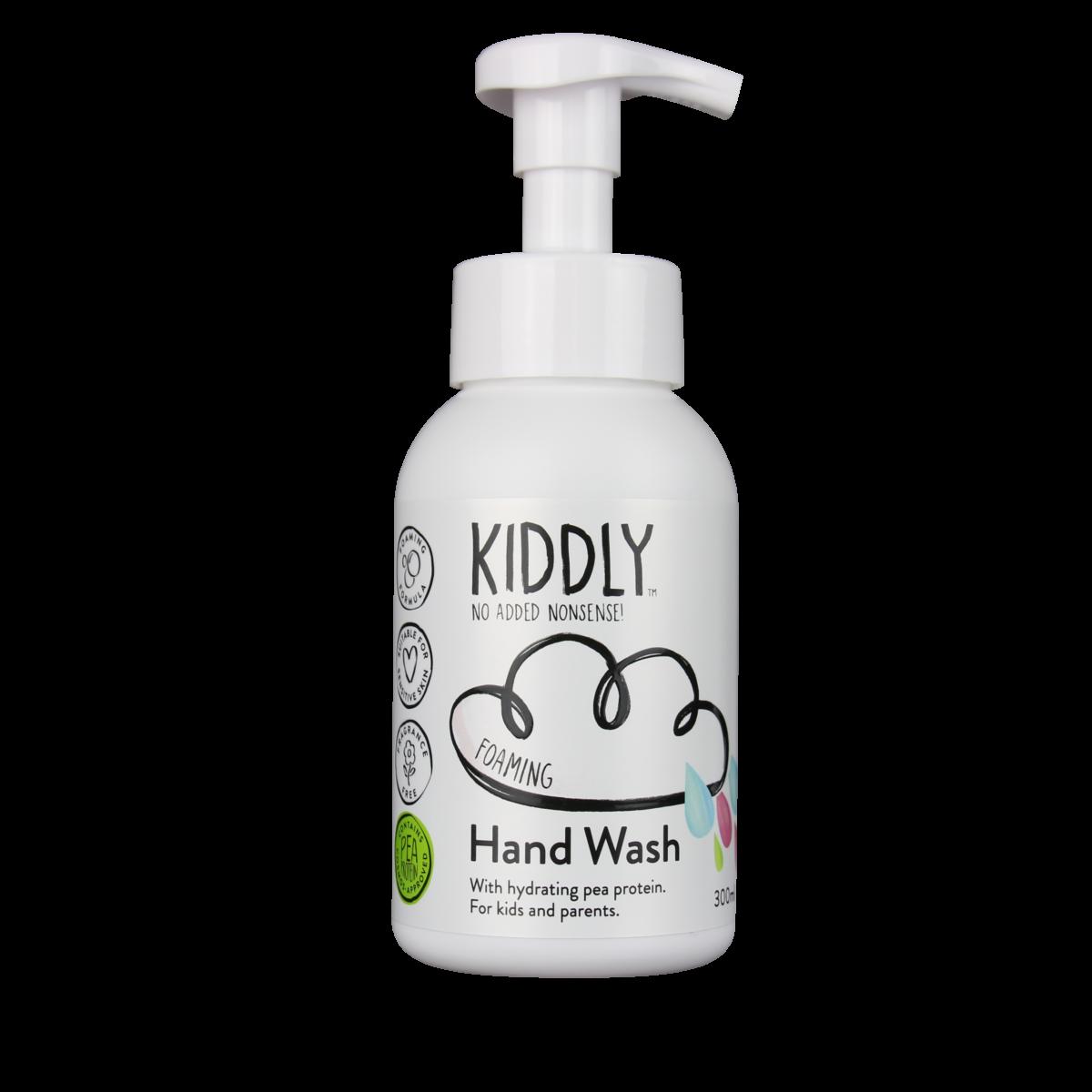 HAND WASH(オーガニック原料、ピープロテイン配合)